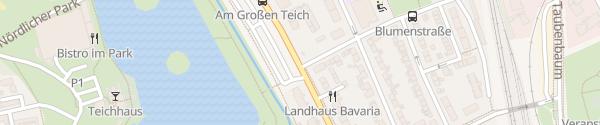 Karte Hotel Lindemann Bad Nauheim