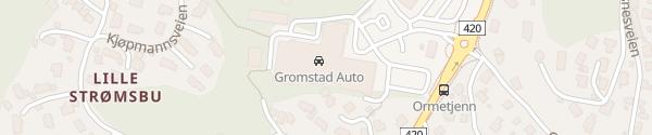 Karte Leif Gromstad Auto AS Arendal