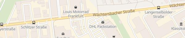 Karte Kaufland Wächtersbacher Straße Frankfurt am Main