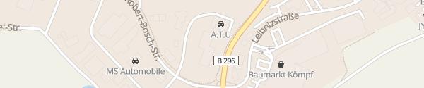 Karte VW Autohaus Weeber Calw