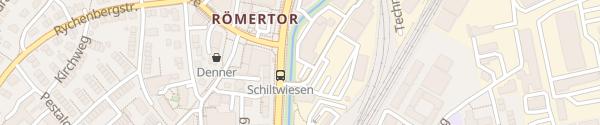 Karte BMW Hutter Dynamics Winterthur