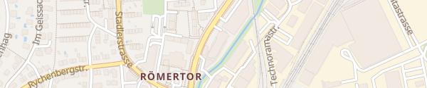Karte Hutter Auto Winterthur