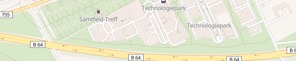 Karte NovaTec Paderborn