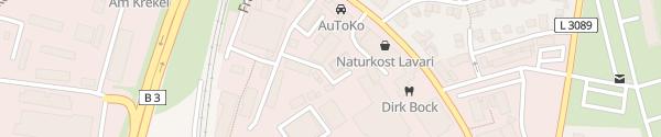 Karte Hotel im Kornspeicher Marburg