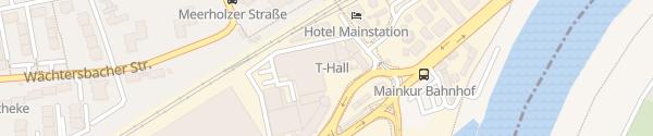 Karte Tesla Service Center Frankfurt am Main