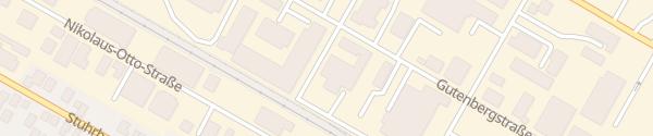 Karte Max-Planck-Straße Stuhr