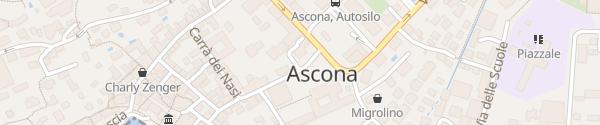 Karte Via Collegio Ascona