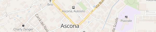 Karte Autosilo Comunale Ascona