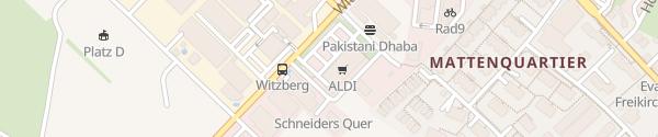 Karte Aldi Pfäffikon