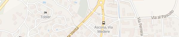 Karte Viale Monte Verità Ascona
