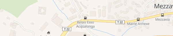 Karte Station Esso Ajaccio