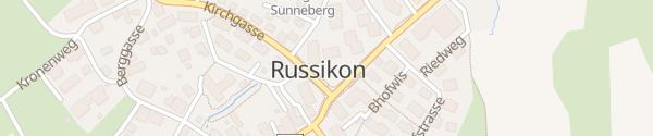 Karte Gemeindehaus Russikon