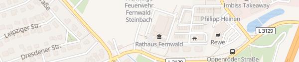 Karte Gemeindeverwaltung Fernwald