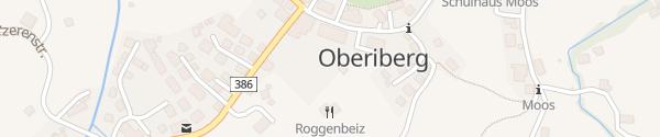 Karte Skilift Oberiberg