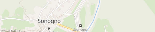 Karte Parkplatz Sonogno