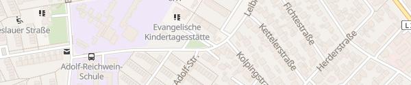 Karte Leibnizstraße Heusenstamm