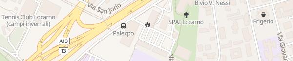Karte Palexpo Locarno Locarno
