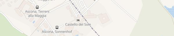 Karte Hotel Castello Del Sole Ascona