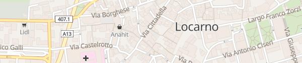 Karte Città Vecchia Locarno