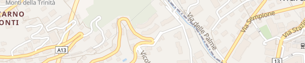 Karte Hotel Belvedere Locarno