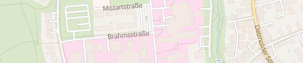 Karte Herz- und Diabeteszentrum Bad Oeynhausen