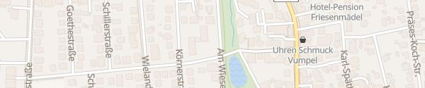 Karte Hotel Apart W3 Bad Oeynhausen