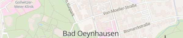 Karte Auferstehungskirche Bad Oeynhausen