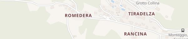 Karte Via Fornasette Monteggio