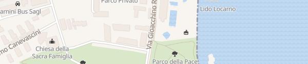 Karte Parco della Pace Locarno
