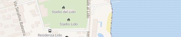 Karte Lido Locarno Locarno