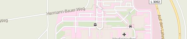 Karte Klinikum Marburg Parkplatz P7 Marburg