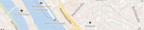 Karte Wachtstraße Bremen