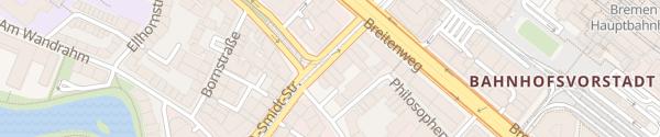Karte Select Hotel City Bremen
