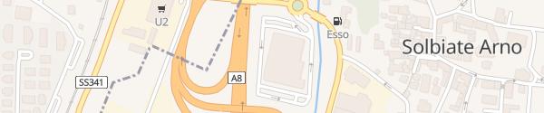 Karte Tigros Solbiate Arno