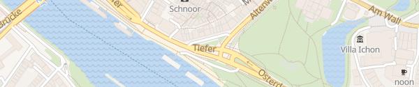 Karte Parkplatz Altenwall Bremen