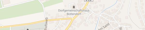 Karte Dorfgemeinschaftshaus Bottendorf Burgwald