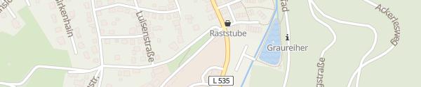 Karte Bahnhofstraße Schönau