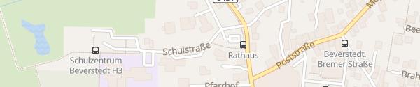 Karte Rathaus Beverstedt