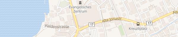 Karte Einkaufszentrum Sonnenhof Rapperswil-Jona