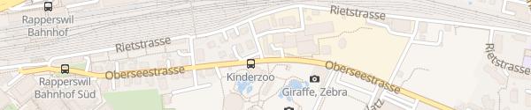 Karte Knies Kinderzoo Rapperswil SG