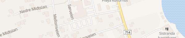 Karte Kysthaven Parkering Sistranda