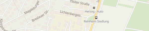 Karte Auto Seeger Reinheim