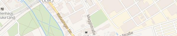 Karte Maggistraße Singen