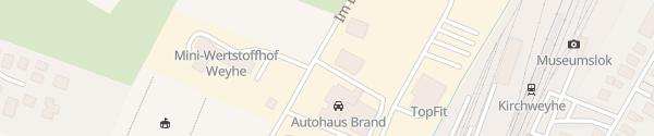 Karte Autohaus Brandt Weyhe