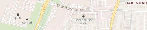 Karte Ernst-Buchholz-Straße Bremen