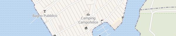 Karte Camping Cmpifelice Tenero