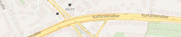 Karte Kurfürstenallee Bremen