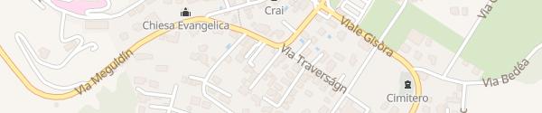 Karte Via Ort Pruvin Novaggio