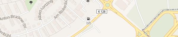 Karte BFT Tankstelle Dieburg