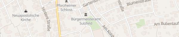 Karte Rathaus Sulzfeld